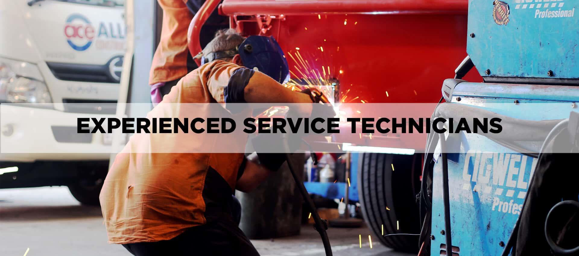 XP Service technicians