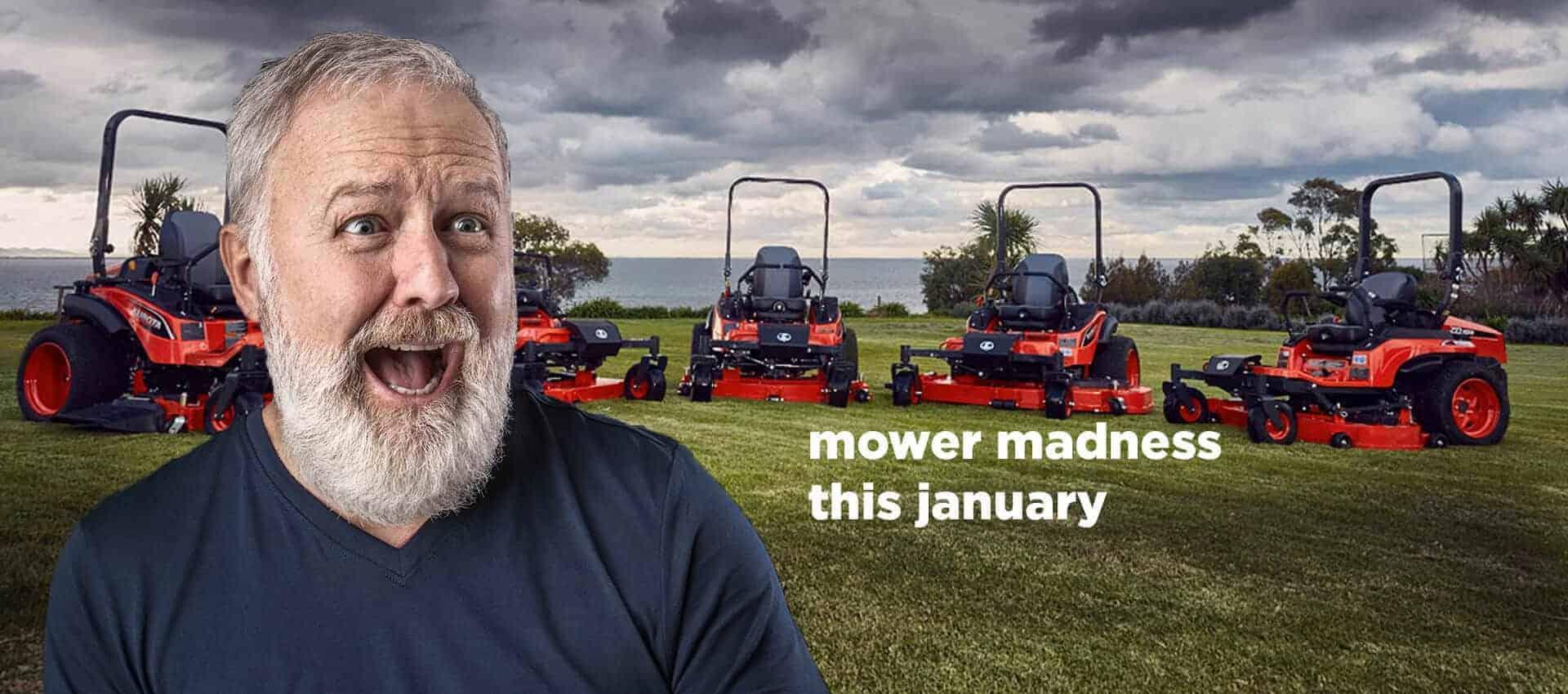 Mower Madness this Jan