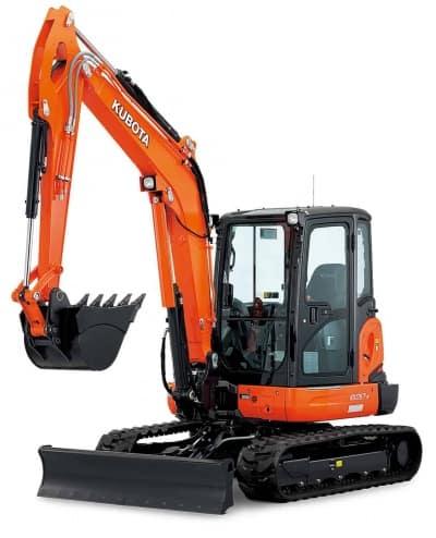 Kubota Mini Excavator KX040-4