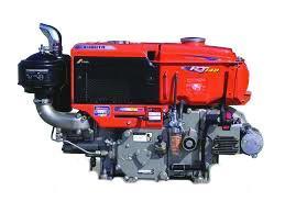 Kubota RT Series Engine on white background